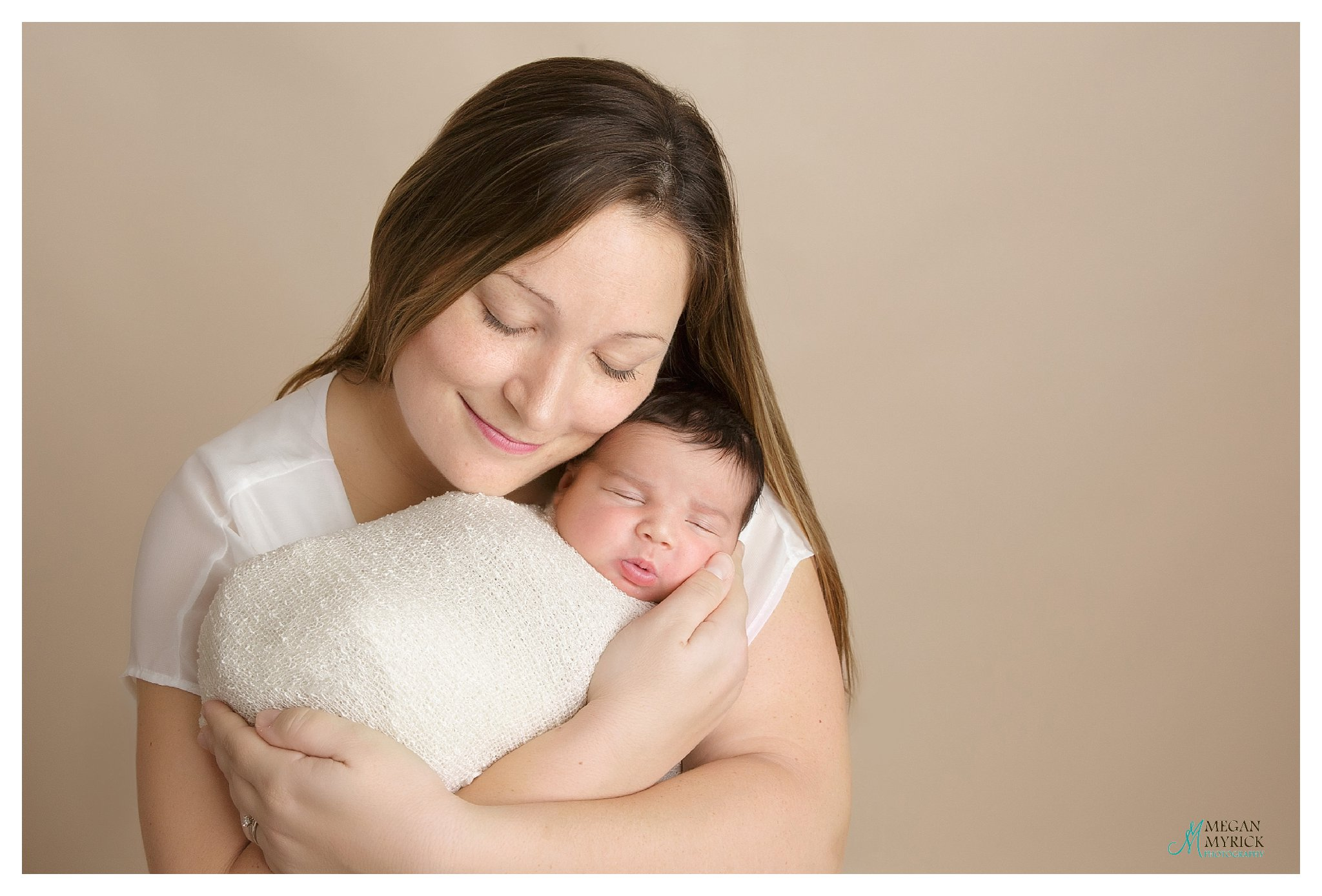 Richmond Hill Newborn Photographer www.meganmyrickphotography.com Baby J.